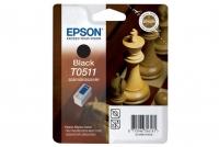 Оригинальный картридж EPSON T0511 (900 стр., черный)