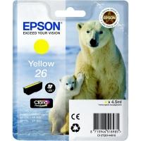 Оригинальный картридж EPSON 26 (300 стр., желтый)