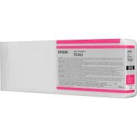 Оригинальный картридж EPSON T6363 (700 мл., пурпурный насыщенный)